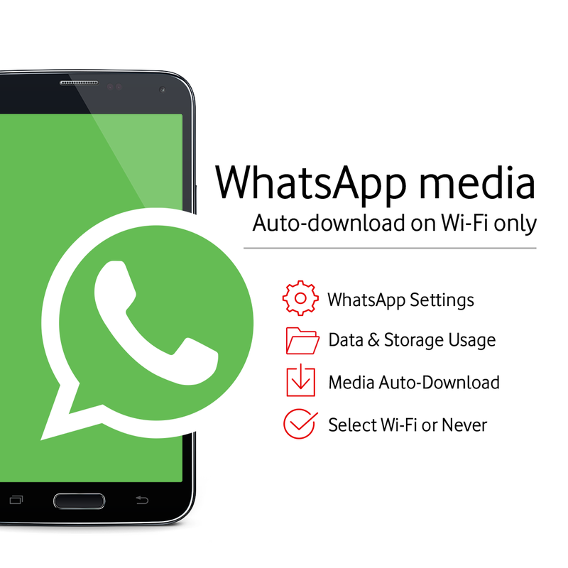How to auto-download media only on wi-fi for WhatsApp