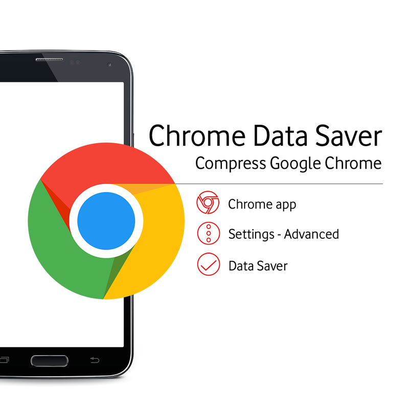 How to activate Google Chrome Data Saver
