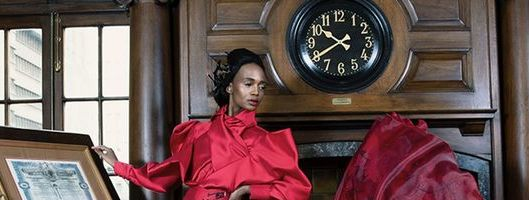 David Tlale turns on the glamour for Vodacom Red