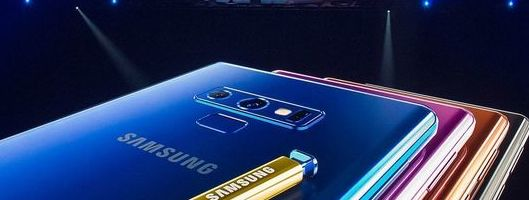 Hands-on with the Samsung Galaxy Note9